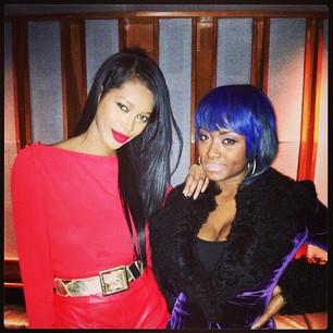 @iamjesswhite With my boo @SonyaeElise