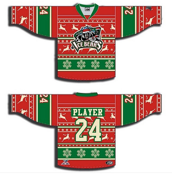 Knoxville Ice Bears (Ugly Christmas Sweaters)