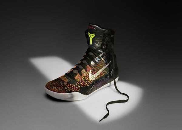 "An angle look at the ""Kobe 9,"" Kobe Bryant's latest Nike signature shoe. (Nike)"