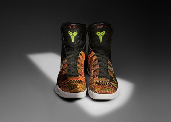 "A front look at the ""Kobe 9,"" Kobe Bryant's latest Nike signature shoe. (Nike)"