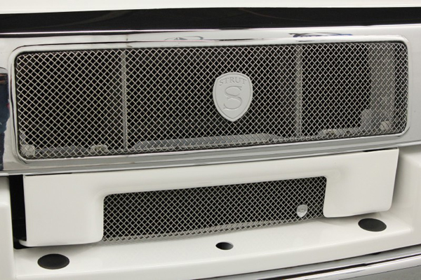 The Hummer H2 that LeBron James drove during high school has a custom grill. (Autos Direct Online)