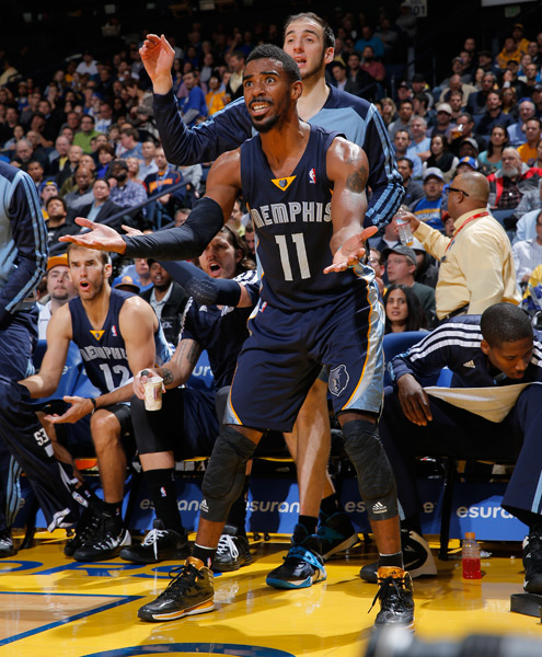 Mike Conley :: Getty Images