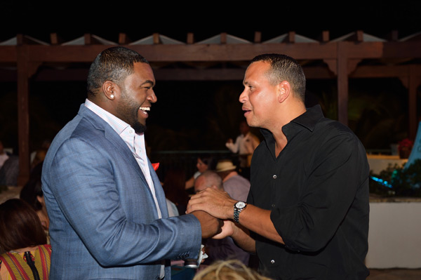 David Ortiz and Alex Rodriguez :: Photo Courtesy of  David Ortiz Children's Fund