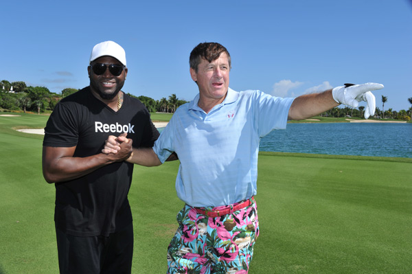 David Ortiz and Craig Sager :: Photo Courtesy of  David Ortiz Children's Fund