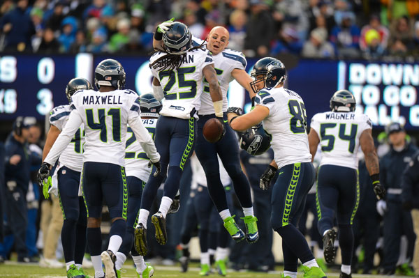 Richard Sherman and Seahawks :: Getty Images