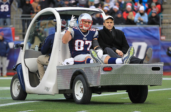 Rob Gronkowski :: Jim Rogash/Getty Images