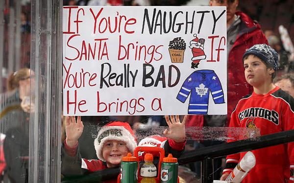 Toronto Maple Leafs vs. Ottawa Senators :: Andre Ringuette/NHLI via Getty Images