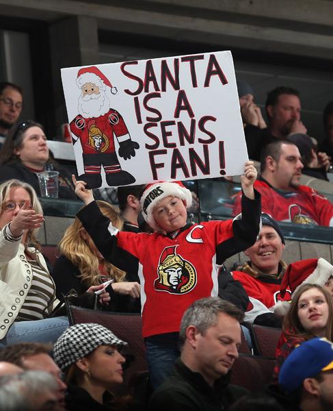 St Louis Blues vs. Ottawa Senators :: Bruce Bennett/Getty Images