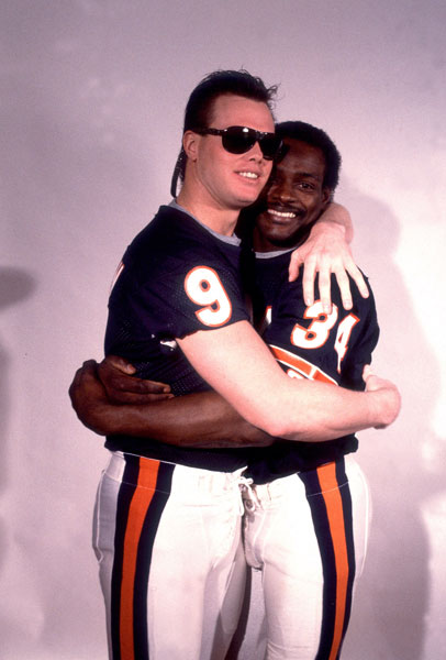 Jim McMahon and Walter Payton :: Getty Images