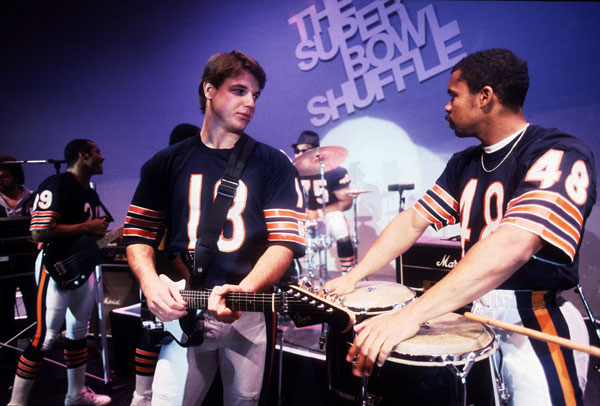 Mike Tomczak and Reggie Phillips :: Getty Images
