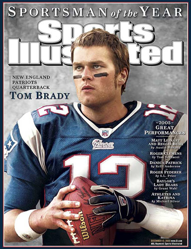 Tom Brady, 2005 (Lynn Johnson/SI)