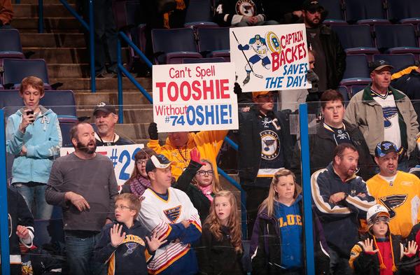 Anaheim Ducks vs. St. Louis Blues :: Mark Buckner/NHLI via Getty Images
