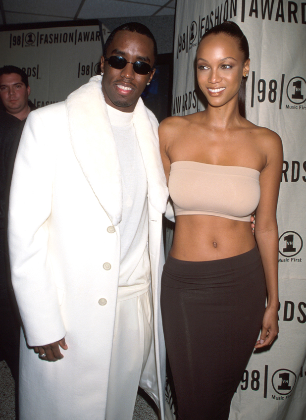 With Diddy/Puffy at the MTV Video Music Awards, 1998  ::  Rose Hartman/WireImage