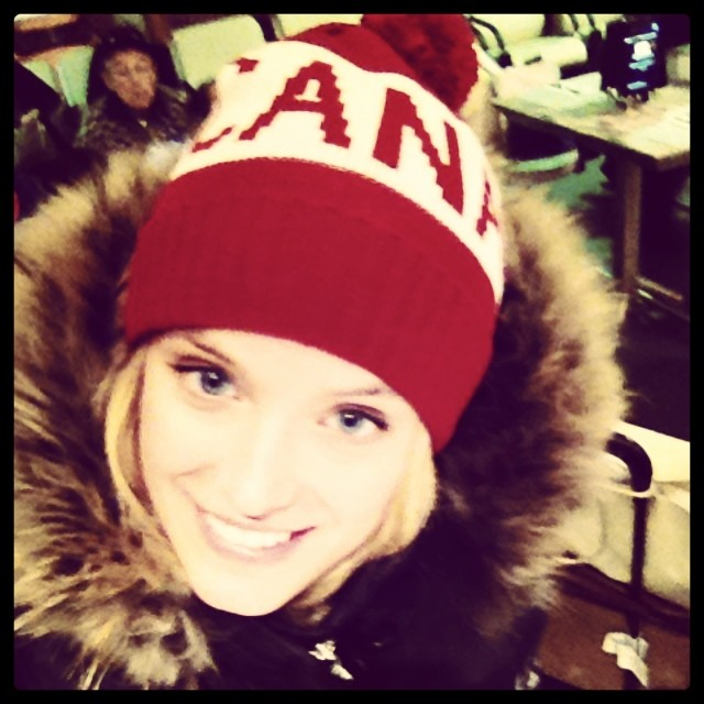 @katelynnebock: Leaving Canada Olympic ready !!!!