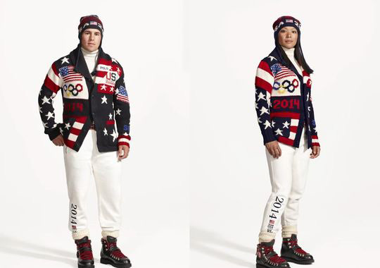 2014 (Sochi) :: Courtesy of Ralph Lauren