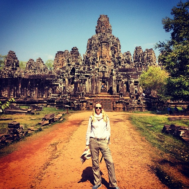 @annev_official: Angkor Thom #cambodia