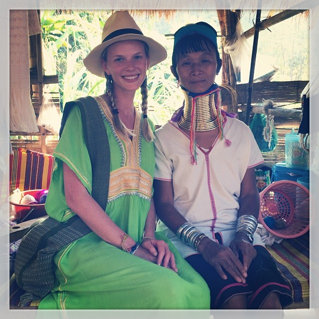 @annev_official: The beauty of long neck Kayan woman of Mae Ai village is so unbelievable #thailand