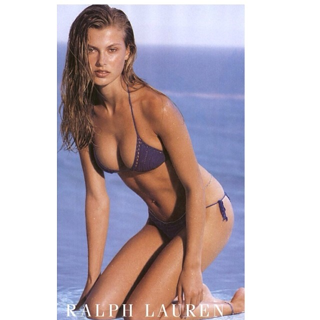@aurelieclaudel: #flashbackfriday @ralphlauren #herbritts #meat18 ( me at 18 ;) #punintended