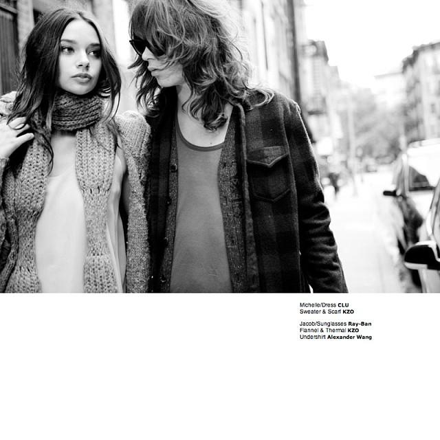 @michellevawerofficial: Contrast Mag By Daeja Fallas #michellevawer #newyork #contrastmag