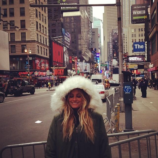 @alanarblanchard: New York baby :)