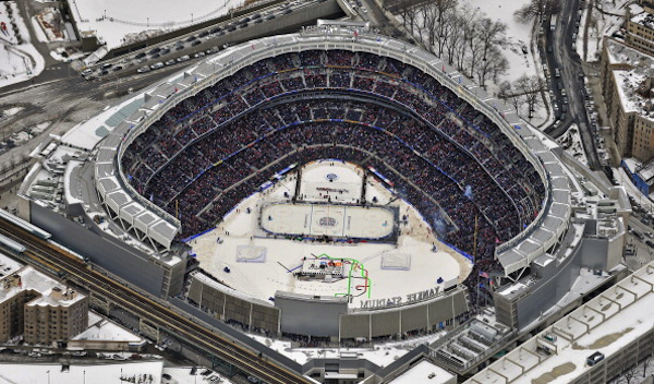 Aerial shot. Obviously (Getty Images)