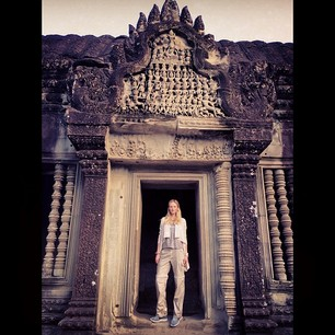 @annev_official Early morning in Angkor Wat