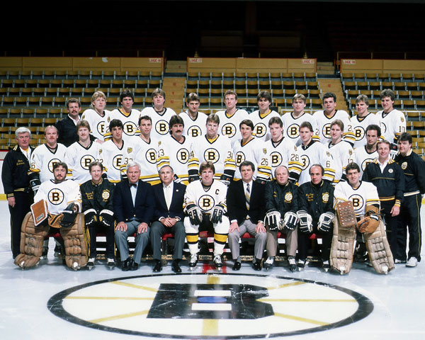 Boston Bruins (1983-84) :: Getty Images