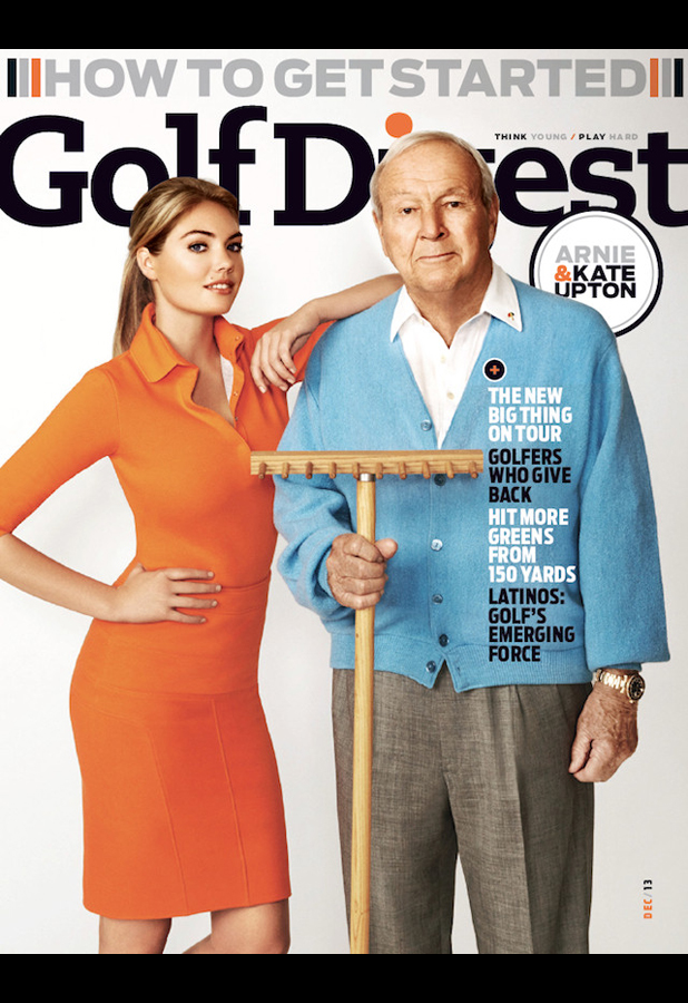 DECEMBER: Golf Digest (U.S.) by Walter Iooss Jr.