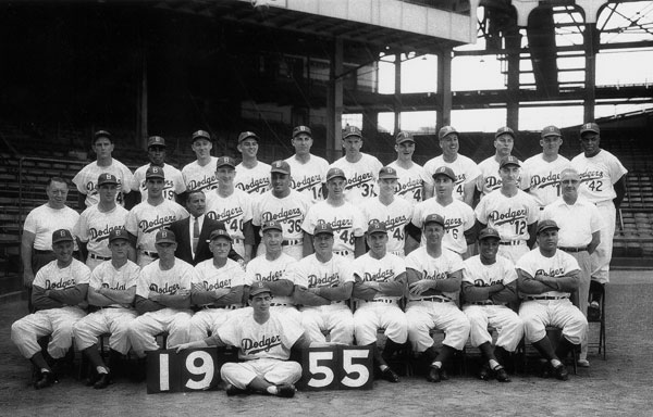 Brooklyn Dodgers (1955) :: Getty Images