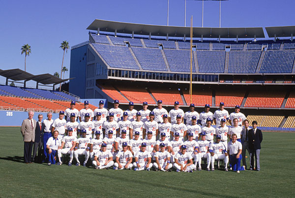 Los Angeles Dodgers (1986) :: Getty Images