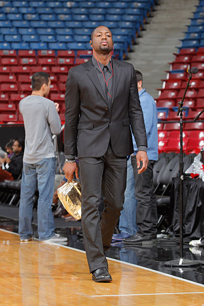 Dwyane Wade :: Getty Images