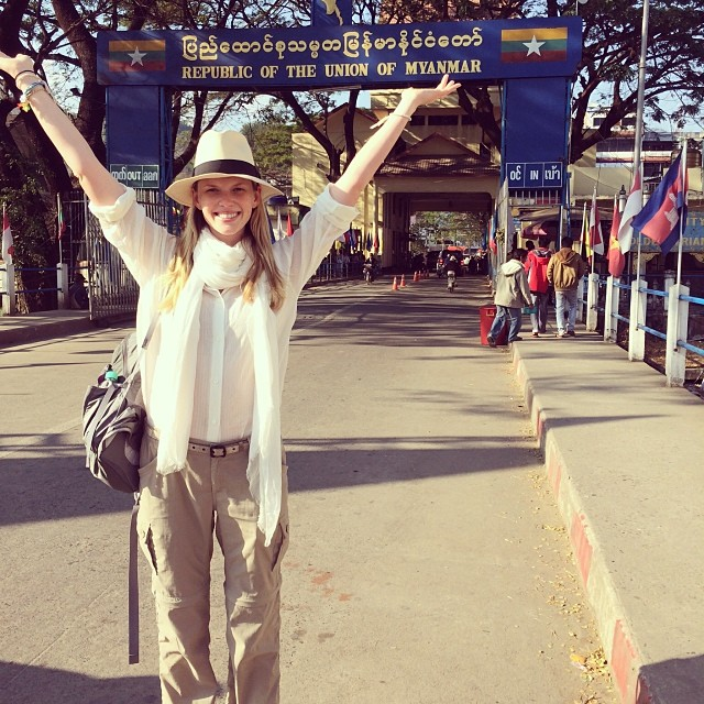 @annev_official: Welcome to Burma