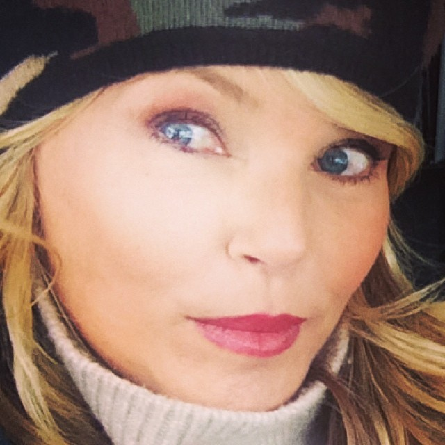 @christiebrinkley: On a snowy adventure with my sonshine!