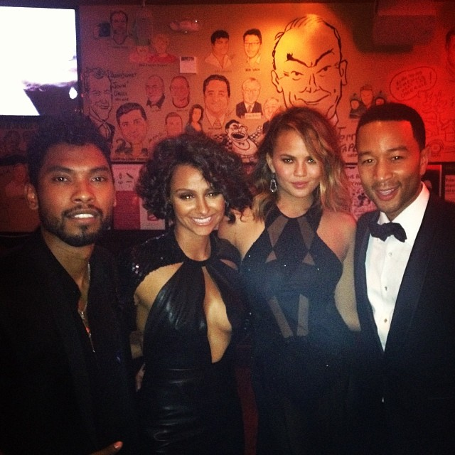 @johnlegend: #Post-Grammys @miguelunlimited @nazaninmandi @chrissyteigen