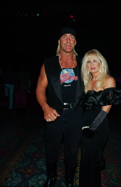 Hulk and Linda Hogan :: Getty Images