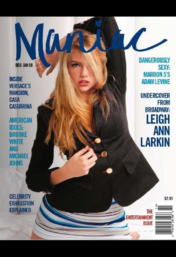 Maniac magazine (US), Dec/Dan 2008
