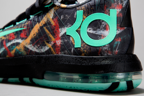 A detail view of Kevin Durant's 2014 All-Star Game sneakers. (Nike)