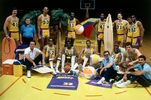 Los Angeles Lakers (1983-84) :: Getty Images