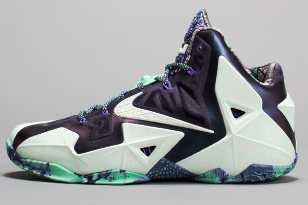 A side view of LeBron James' 2014 All-Star Game sneakers. (Nike)