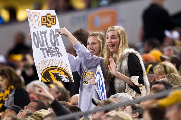 Missouri v Oklahoma State :: John Korduner / Icon SMI