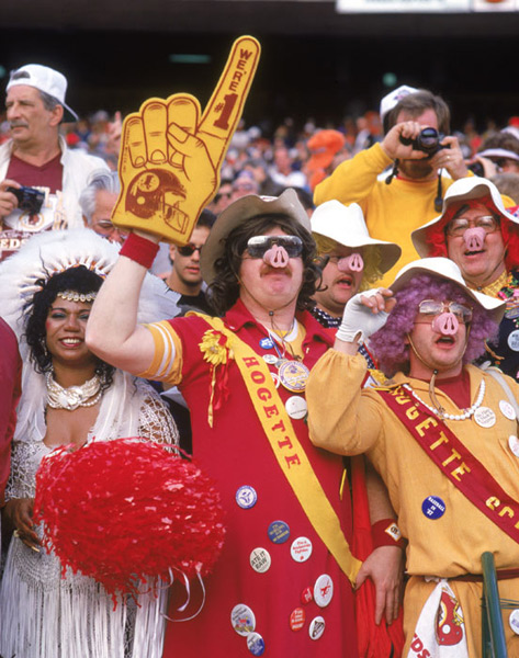 Washington Redskins                               Super Bowl XXII, 1988 :: George Rose/Getty Images