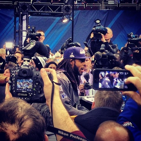 Cameras and recorders seizing on Sherman. (themantz/instagram)