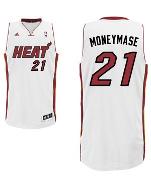 "Heat guard Roger Mason Jr.'s ""Money Mase"" nickname jersey. (Heat.com)"
