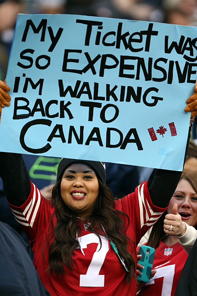 San Francisco 49ers v Seattle Seahawks :: Christian Petersen/Getty Images