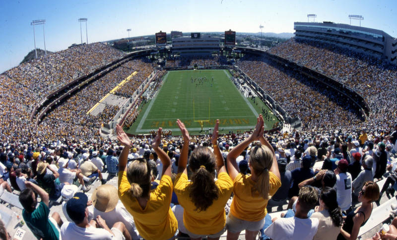Sun Devil Stadium in 1998