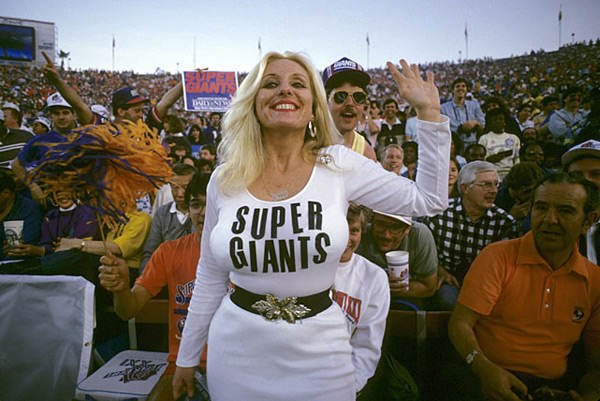 New York Giants                                 Super Bowl XXI, 1987 :: Al Messerschmidt/Getty Images