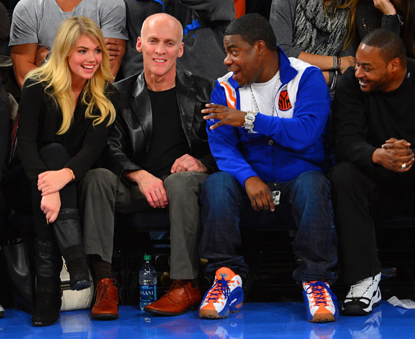 Kate Upton and Tracy Morgan :: James Devaney/WireImage