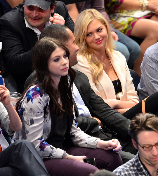 Kate Upton and Michelle Trachtenberg :: James Devaney/WireImage