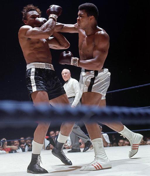 Muhammad Ali and Cleveland Williams ::  James Drake/SI