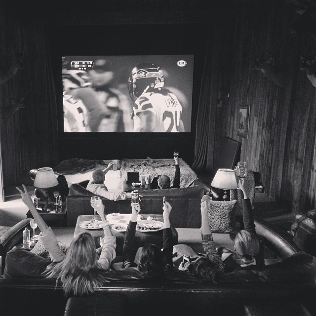 @heidiklum: @heidiklum: May the best team win !!!!!!! #SuperBowl